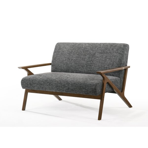 Schuyler 85'' Square Arm Loveseat By George Oliver