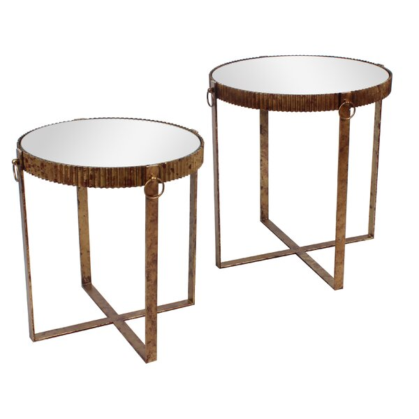 Birchview Cross Legs Nesting Tables By World Menagerie