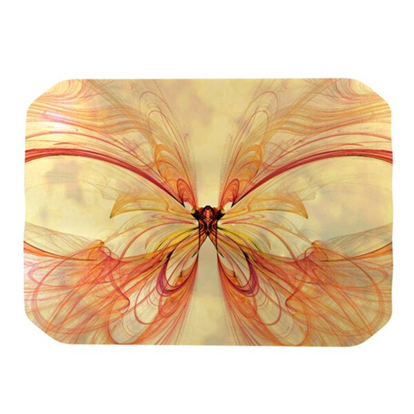 Papillion Placemat by KESS InHouse