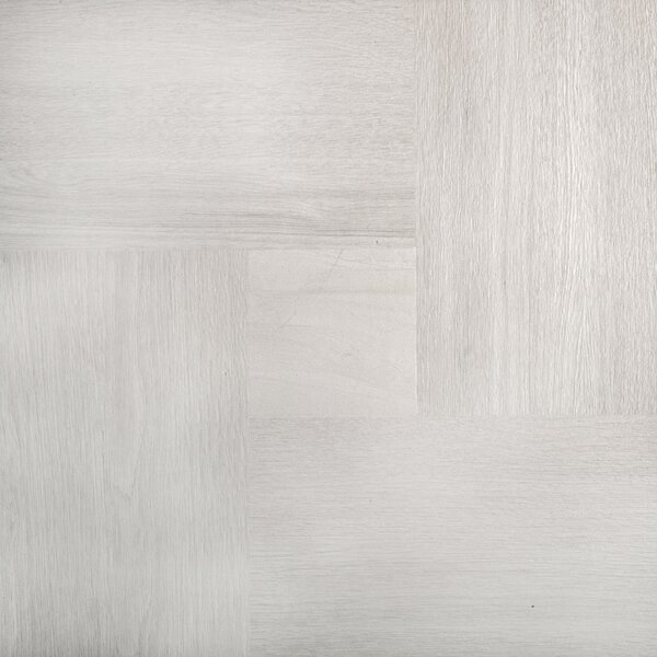 Parquet 20 x 20 Porcelain Wood Look/Field Tile in Ash by Emser Tile