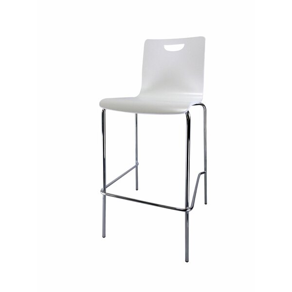 Merius Industrial Stool (Set of 4) by Orren Ellis