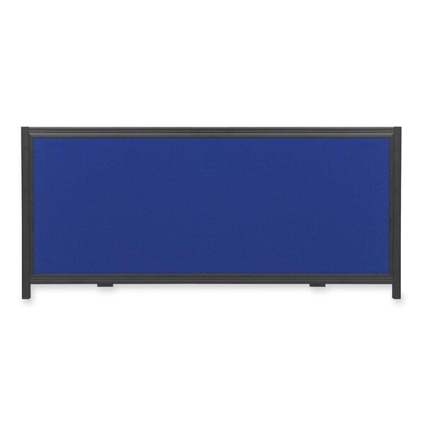 Header Panel Wall Mounted Bulletin Board by Quartet®