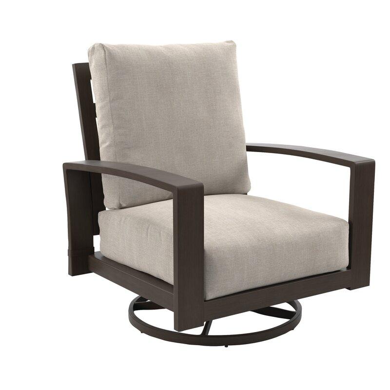 Mistana Jay Swivel Patio Chair With