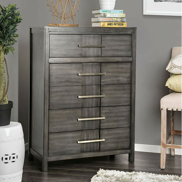 Midwest 5 Drawer Chest by Modern Rustic Interiors