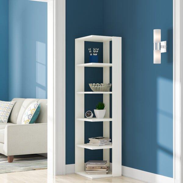 Gaudette Modern Corner Bookcase By Ebern Designs Today Sale Only