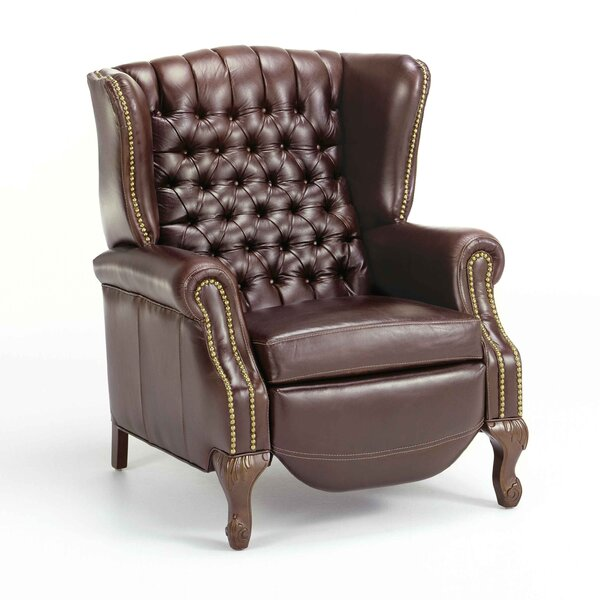Ashbourne Leather Manual Recliner by Fornirama