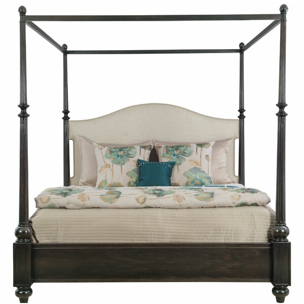 Sutton House Queen Upholstered Panel Bed by Bernhardt