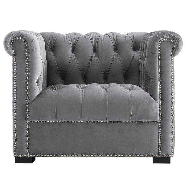 Newlyn Barrel Chair by Everly Quinn Everly Quinn
