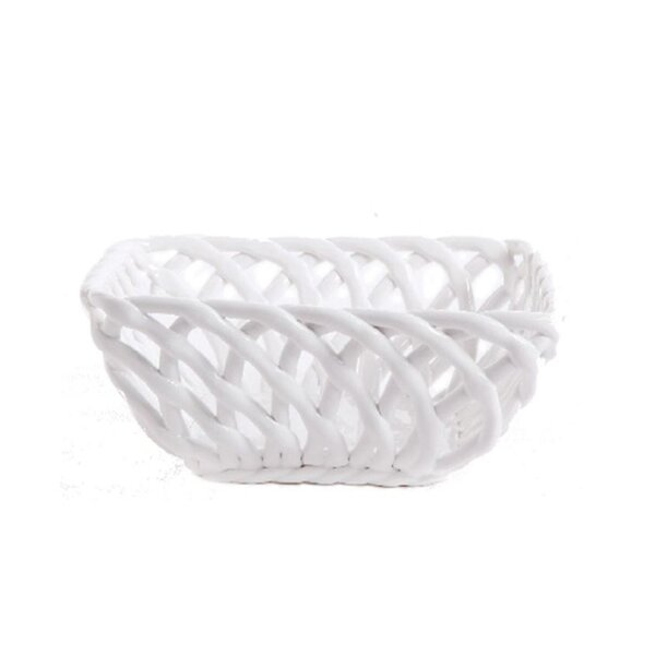 Gracious Dining Square Woven Bread Basket By Gibson.