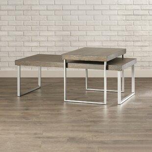 Asine 2 Piece Coffee Table Set Mercury Row