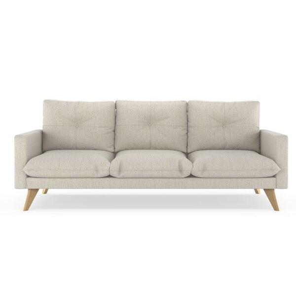 Review Crampton Satin Weave Sofa