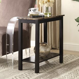 Reviews Lediyana End Table By Roundhill Furniture
