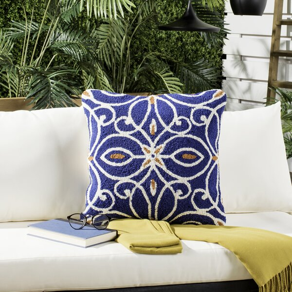 Lux Outdoor Throw Pillow (Set of 2) by Bungalow Rose