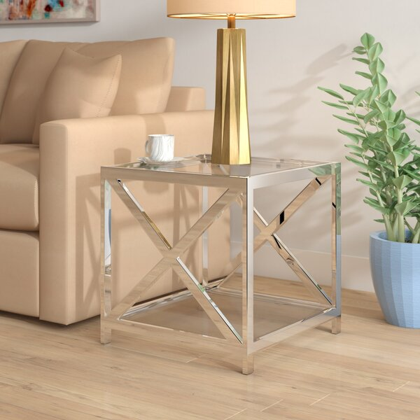 Earleen End Table by Orren Ellis