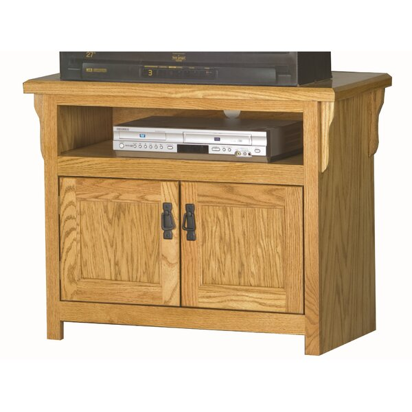 Lynnfield Solid Wood TV Stand For TVs Up To 43