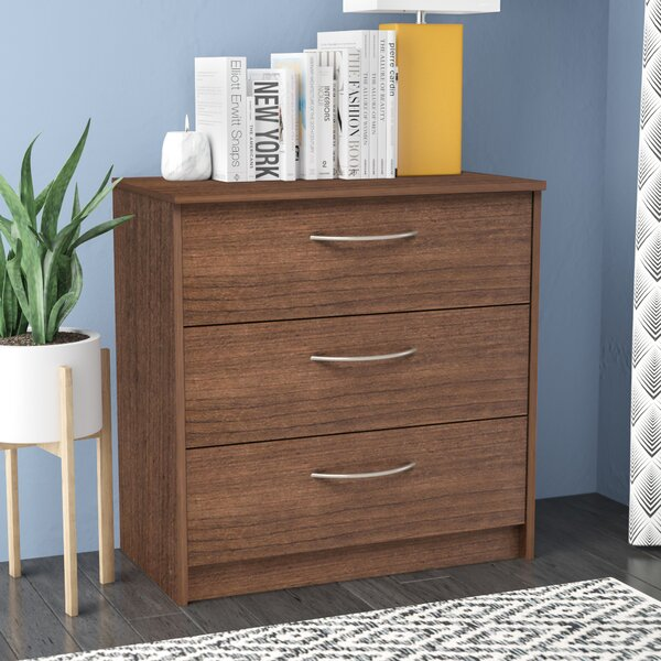 Karis 3 Drawer Chest by Zipcode Design