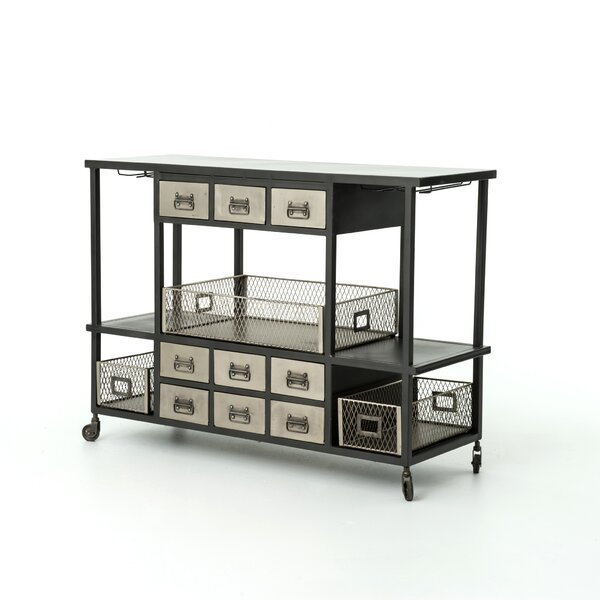 Hennen Bar Cart by 17 Stories