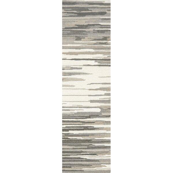 Tufted Wool Gray Rug