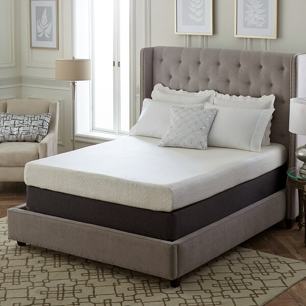 8 Medium Memory Foam Mattress by Classic Brands