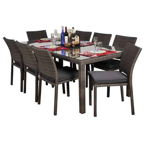Finola 7 Piece Dining Set by Beachcrest Home