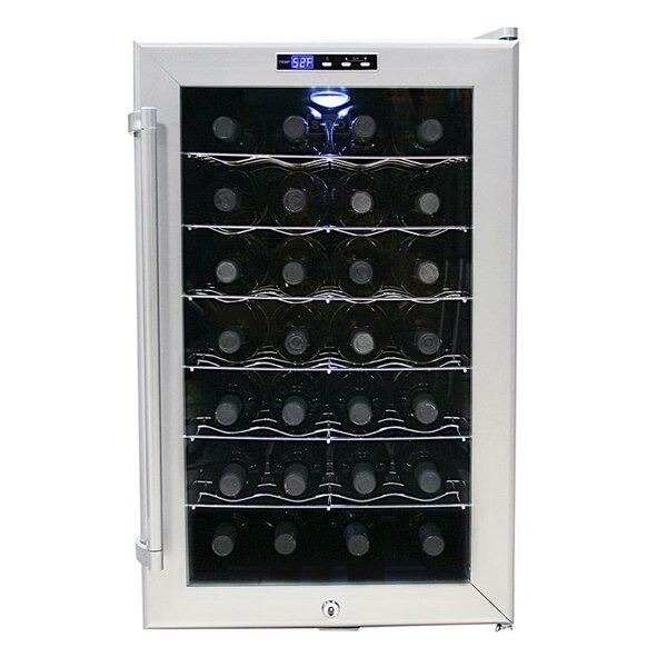 28 Bottle Single Zone Freestanding Wine Cooler by Whynter28 Bottle Single Zone Freestanding Wine Cooler by Whynter