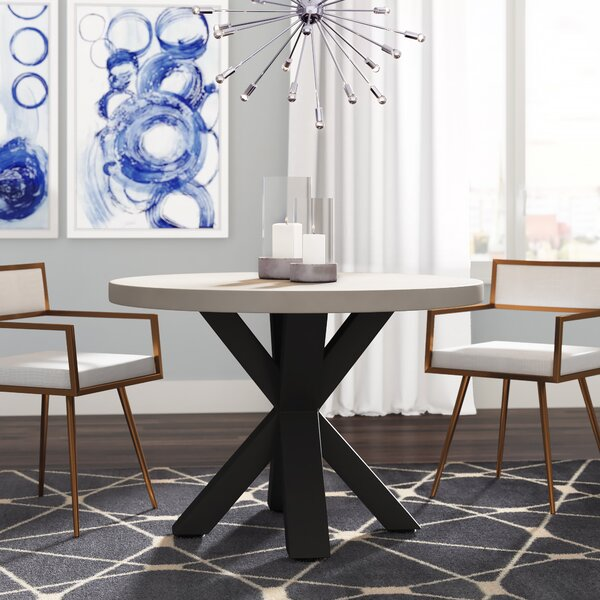 Baucau Iron Dining Table by Brayden Studio