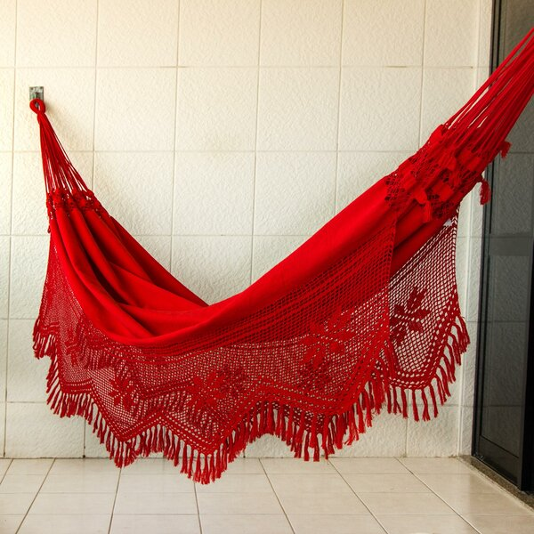 Solid Cotton Tree Hammock by Novica Novica