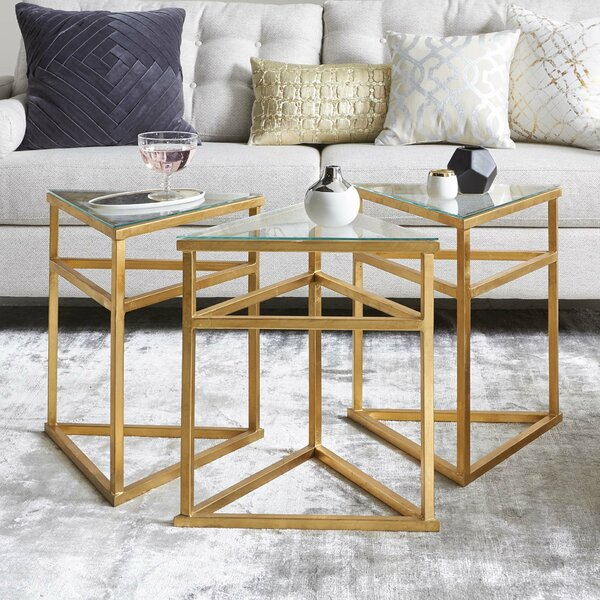 Reynaldo 3 Piece Coffee Table Set by Willa Arlo Interiors