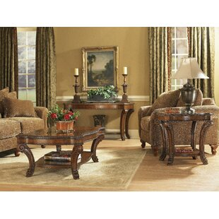 Brussels 3 Piece Coffee Table Set by Astoria Grand