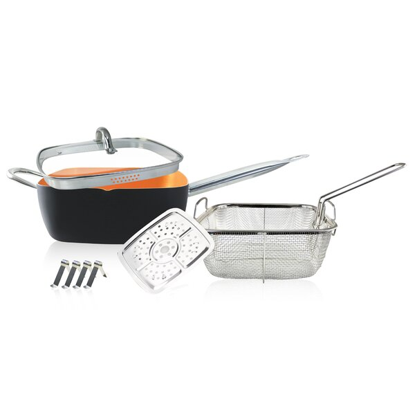8 Piece Non-Stick Cookware Set by Volar Ideas