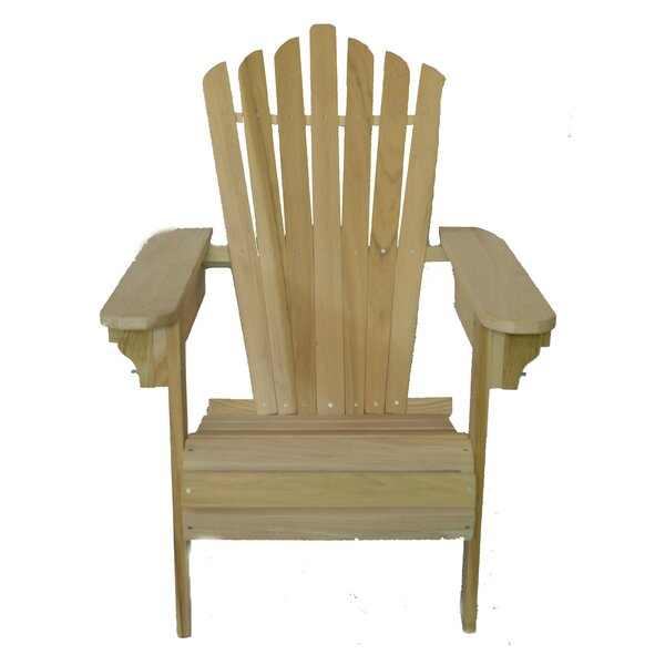 Solid Wood Adirondack Chair by Beecham Swings