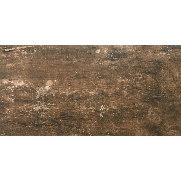 Ranch 12 x 24 Porcelain Wood Look Tile in Pasture by Emser Tile