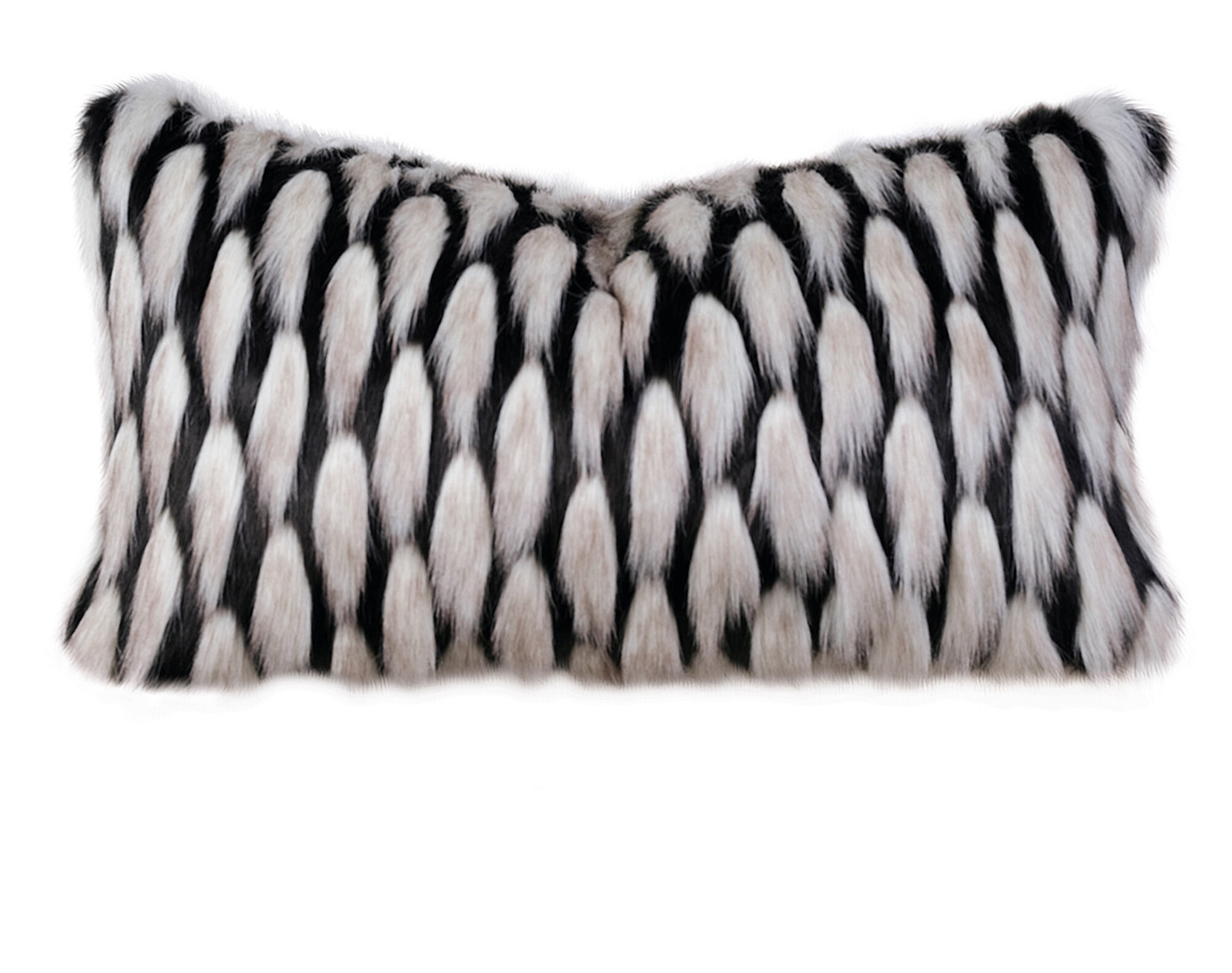 Barclay Butera Faux Fur Throw Pillow