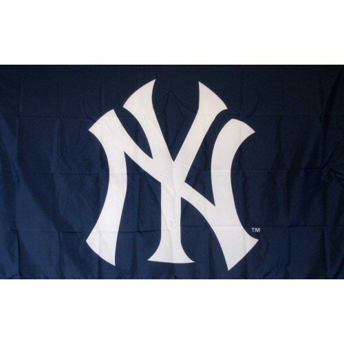 New York Yankees Polyester 3 x 5 ft. Flag by NeoPlex