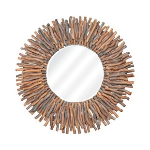 Bloomsbury Market Amett Hand Laid Twig Accent Mirror