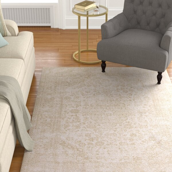 Danielian Champagne Area Rug by Darby Home Co