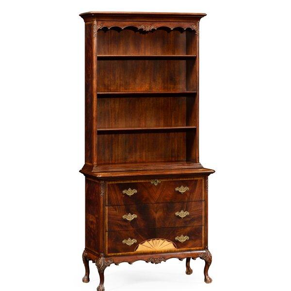 Buckingham Tall Standard Bookcase by Jonathan Charles Fine Furniture Jonathan Charles Fine Furniture