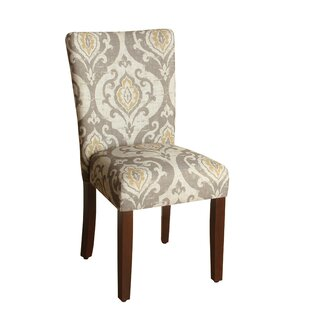Best Reviews Neena Upholstered Dining Chair (Set of 2) By Bungalow Rose
