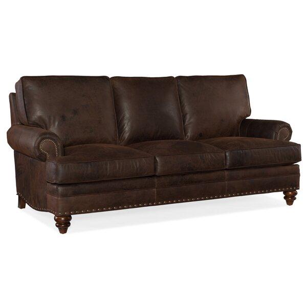 Carrado Leather Sofa by Bradington-Young