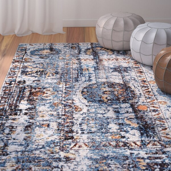 Andrews Taupe Area Rug by Bungalow Rose