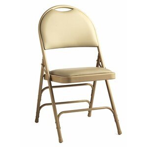 Comfort Series Leather Padded Folding Chair (Set Of 4)