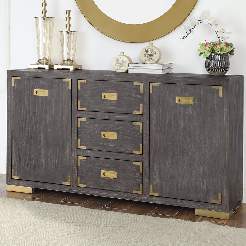 Laffoon 2 Door 3 Drawer Media Credenza