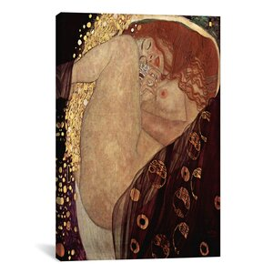 'Danae' by Gustav Klimt Painting Print on Canvas by iCanvas