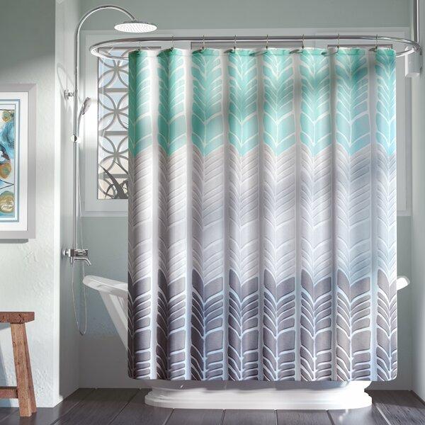 Knarr Printed Shower Curtain by Zipcode Design
