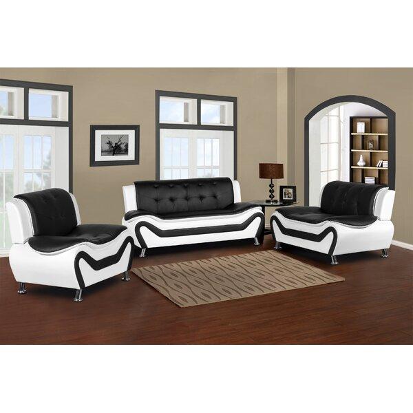 Lizbeth 3 Piece Living Room Set By Orren Ellis