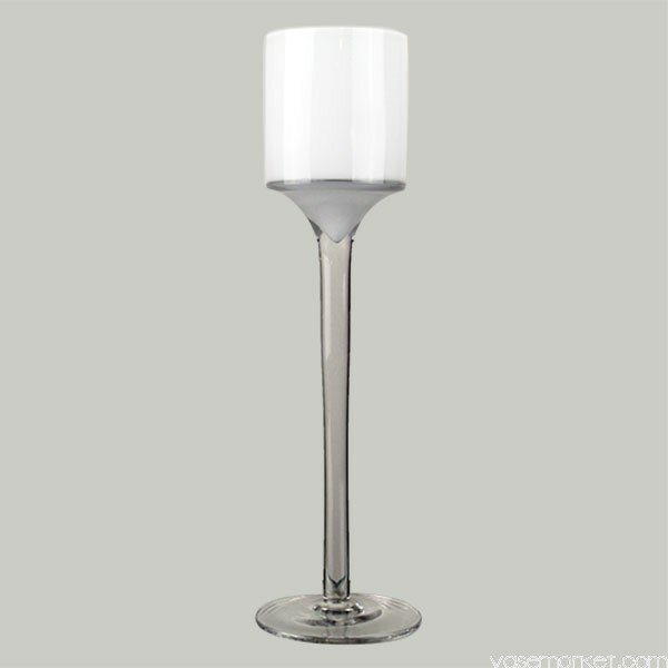 Stemmed Glass Candlestick (Set of 36) by CYS-Excel