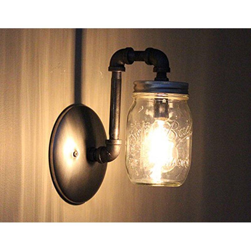 Aida Mason Jar 1 Light