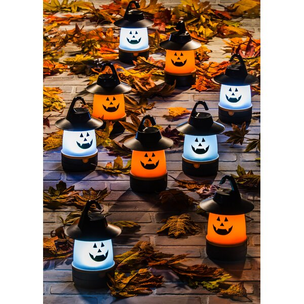 LED Jack-o-Lantern Lamp (Set of 12) by The Holiday Aisle