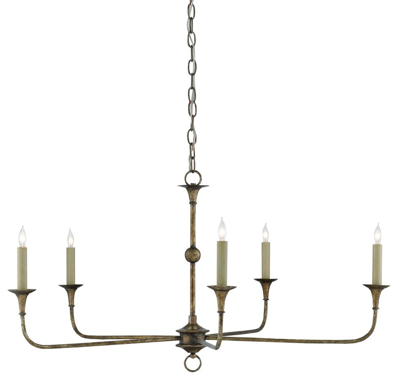 Nottaway 5 Light Candle Style Chandelier