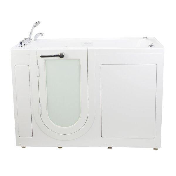 Lounger 59 x 26.75 Walk-In Whirlpool and Air Tub by Ella Walk In Baths